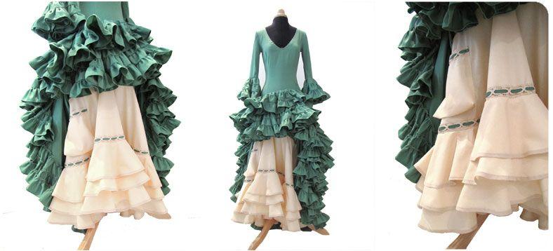 como hacer enagua vestido flamenca Cómo hacer la Enagua de un Vestido de Flamenca. Parte IV