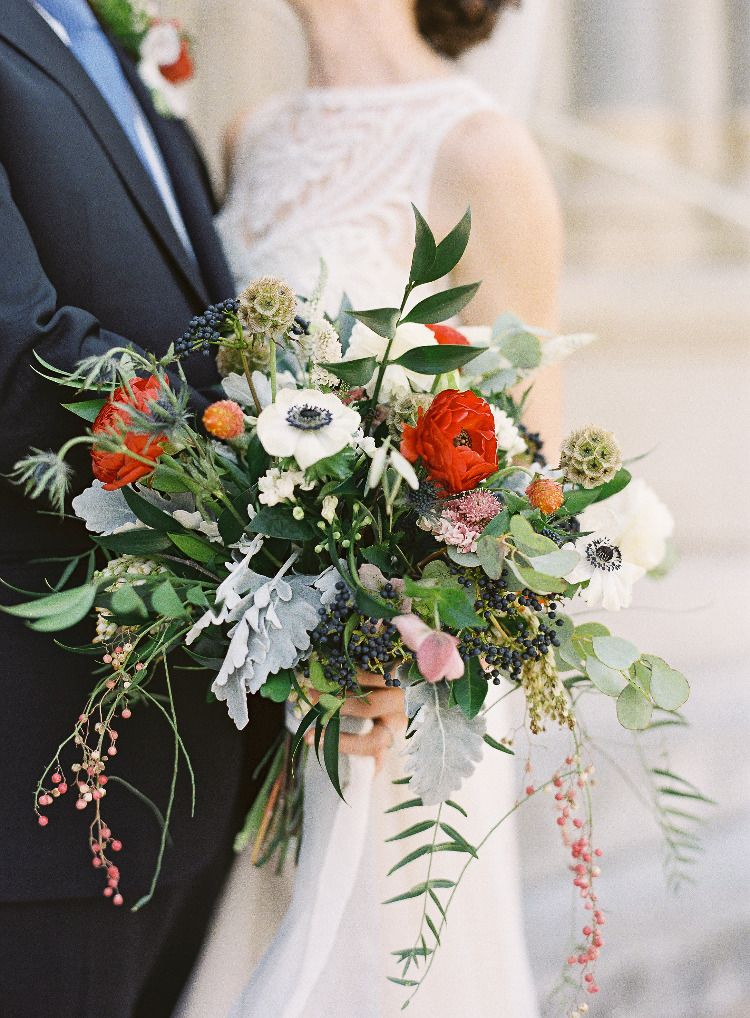 A Romantic Late Summer Wedding We Used A Wide Variety Of Blooms