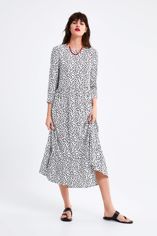 Vestido estampado | Vestido estampado, Vestido de verano