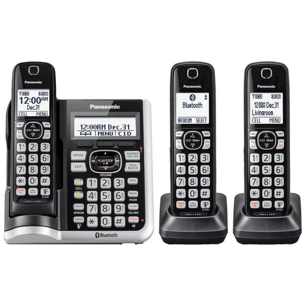 Panasonic KX-TGF573S Link2Cell DECT 6.0 Expandable ...