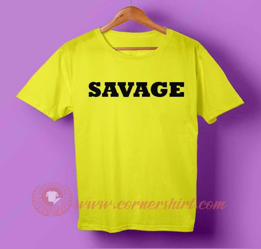 7acb177b09b3a Savage T-shirt home of easy T shirt online shop and make your style be a  look a like. shoulders for comfort and style With personalize t shirt