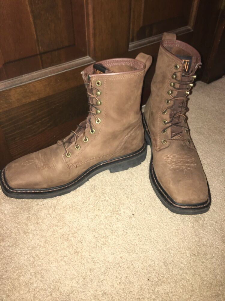 fe684cc7c12 New Mens Ariat Cascade 8 Work Boot Mens 11 #fashion #clothing #shoes ...