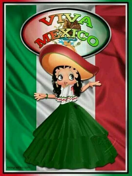 Betty Boop - Viva Mexico