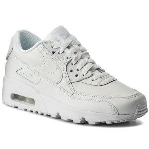 Zapatos NIKE - Air Max 90 Ltr (GS) 833412 100 White/White | Nike ...