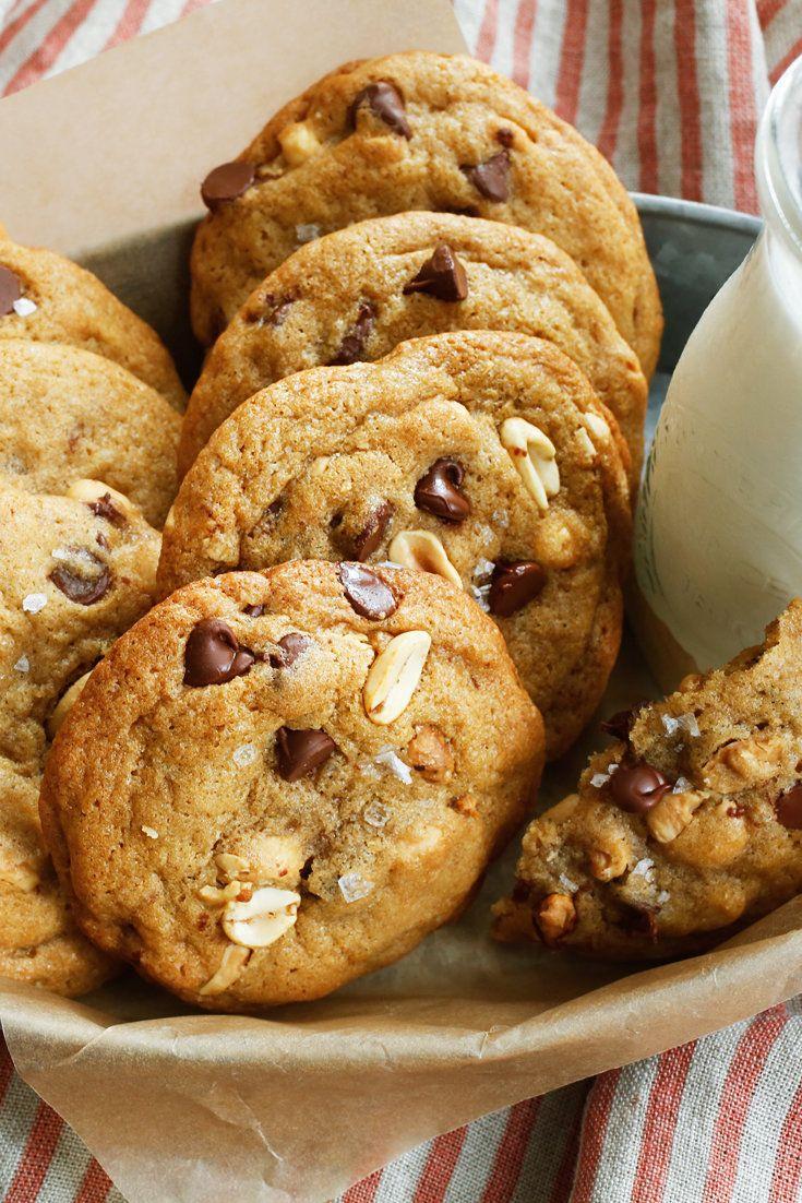 초콜릿&솔티 피넛 쿠키