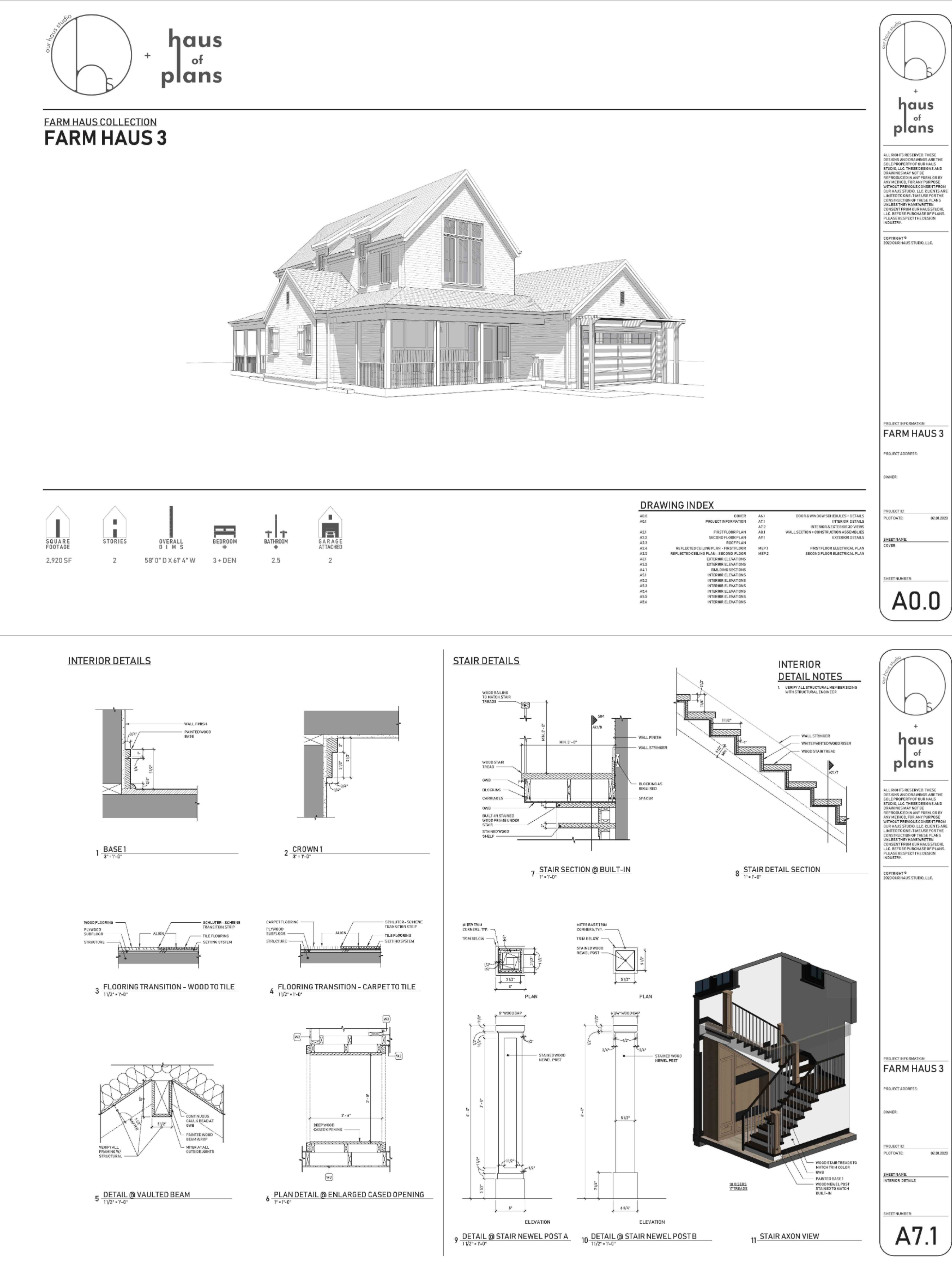 Haus Of Plans What S Included In Each Set In 2020 Construction Documents Construction Construction Drawings