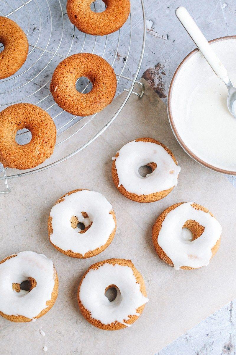 Mini Gingerbread Donuts Vegan