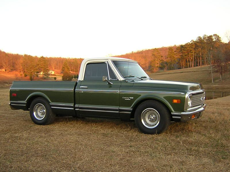 chevy dark olive metallic - Google Search | Chevy C10 Project | Classic chevy trucks, C10 chevy ...