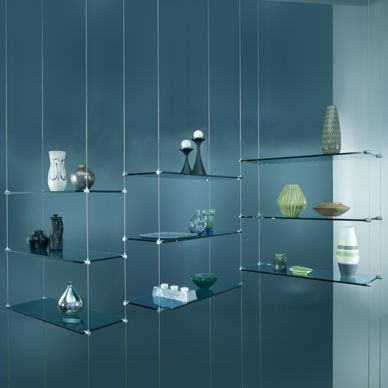 hanging glass shelves d 39 corate pinterest tablette suspendu et d co. Black Bedroom Furniture Sets. Home Design Ideas