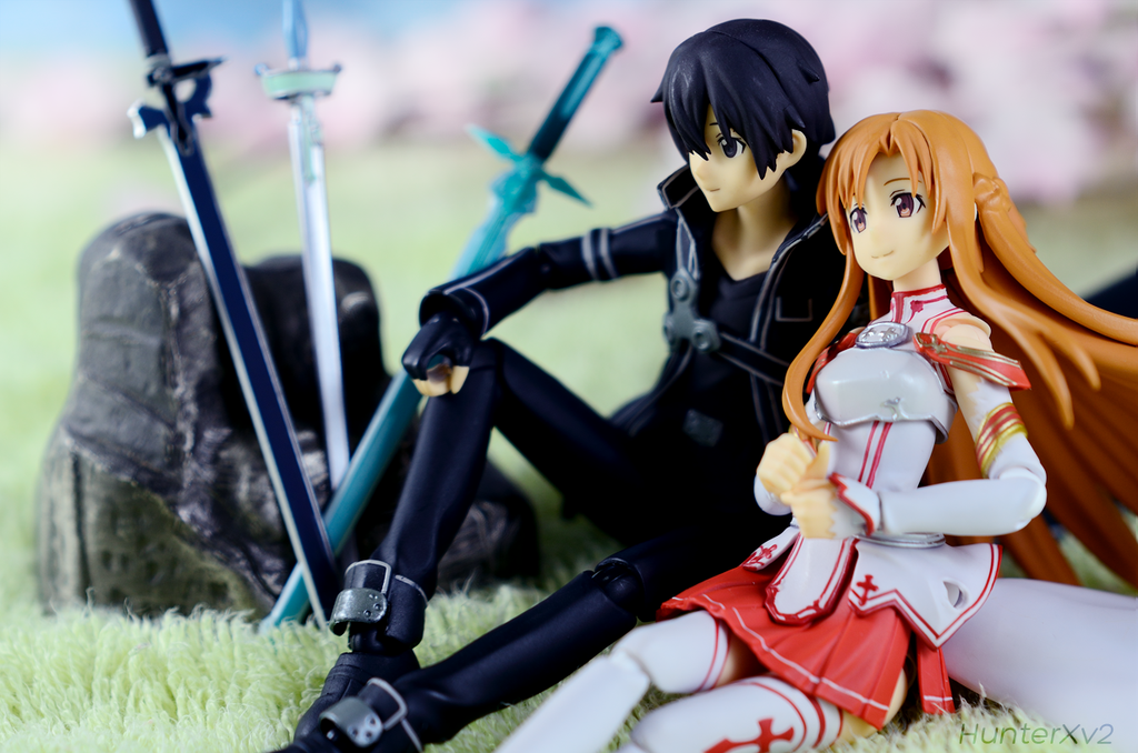 Kirito and Asuna