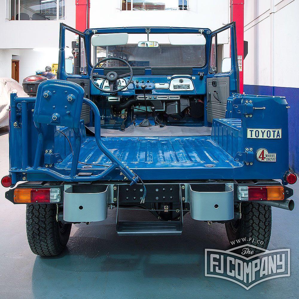 Restoration Update 1982 Toyota Land Cruiser FJ40 #fjco1982mediumblue #fjcompany…