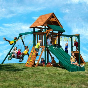 Costco Yardline Play Systems Twin Turbo Tower Ii Playset