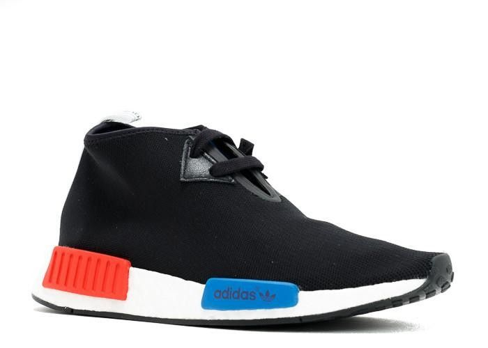 sports shoes 0bb94 7169c New Adidas NMD C1 Blue Black Red Sneaker Shoes Discount Sale ...