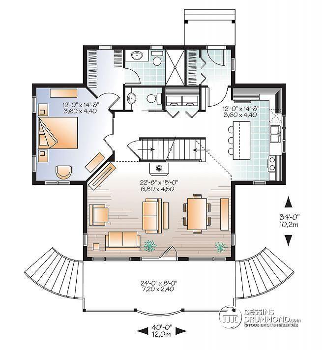 W2939-ES - Maison avec ascenseur, superbe suite chambre des maîtres