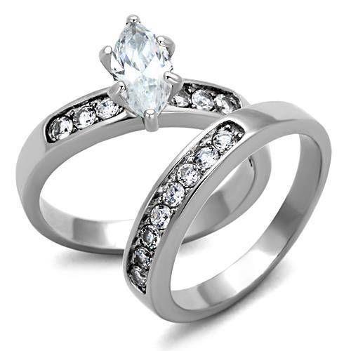 Sizes 5 6 7 8 9 10 Marquise Wedding Ring Set