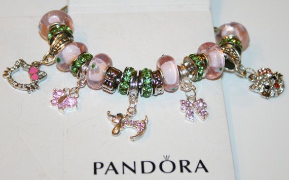 Pink Hello Kitty Authentic Jared Pandora Bracelet By Xdempseyx