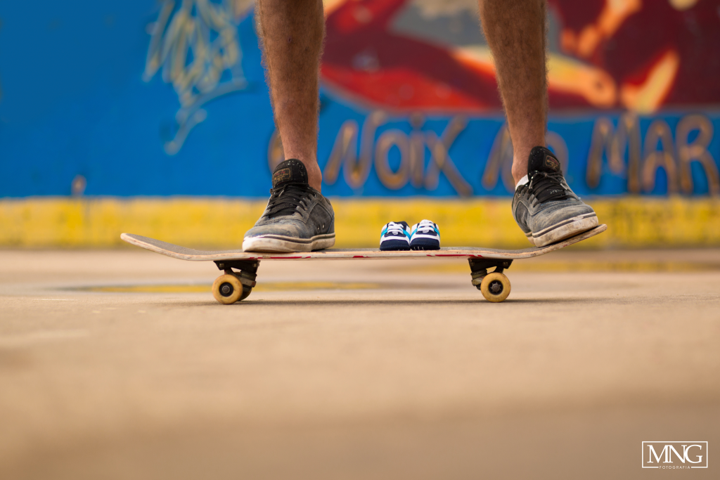 Ensaio gestante, sessão gestante, gestante skate, pista de skate, gestante skatista, grávida em pista de skate