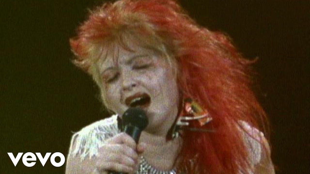 Cyndi Lauper Money Changes Everything (Live) YouTube