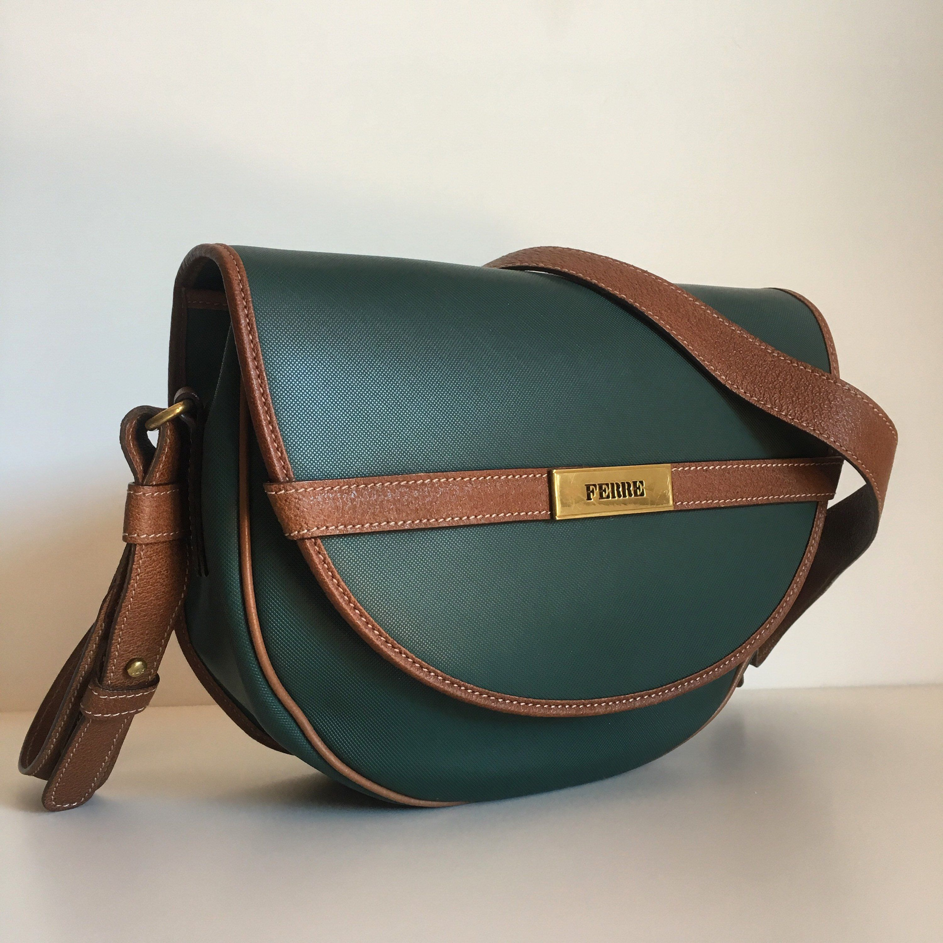 Now On Etsy Gianfranco Ferré Vintage Bag 80s Made In Italy S