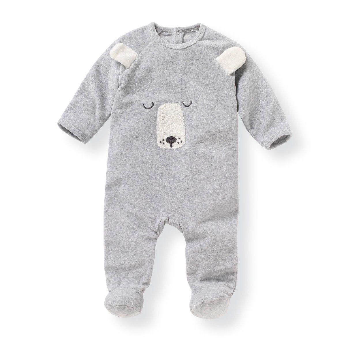 Pijama Para Recien Nacido De Terciopelo 0 Meses 3 Anos Lote De