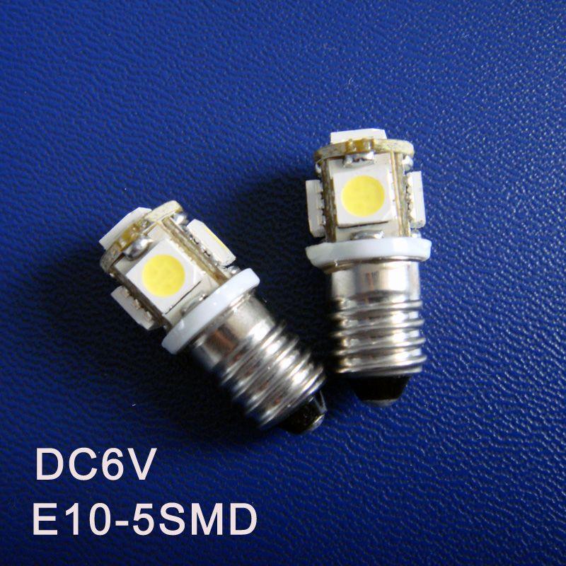 High Quality D6 3v 6v E10 Led Light Bulbs Warning Signal Pilot