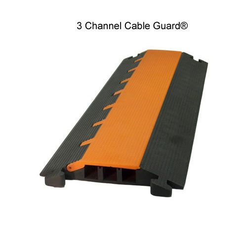 Elasco 3 Channel Heavy Duty Hose And Cable Protection Guard Cable Protector Cable Cable Wire