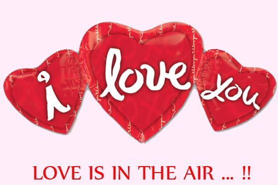San Valentin: ¡Love is in the air! Gran seleccion de globos con forma de corazon http://www.airedefiesta.com/list.aspx?c=1473&hc=36&md=2