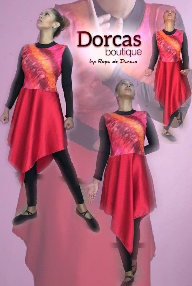 Pin de Madeline Figueroa en Vestuarios de Danza Cristiana - Roupas ...