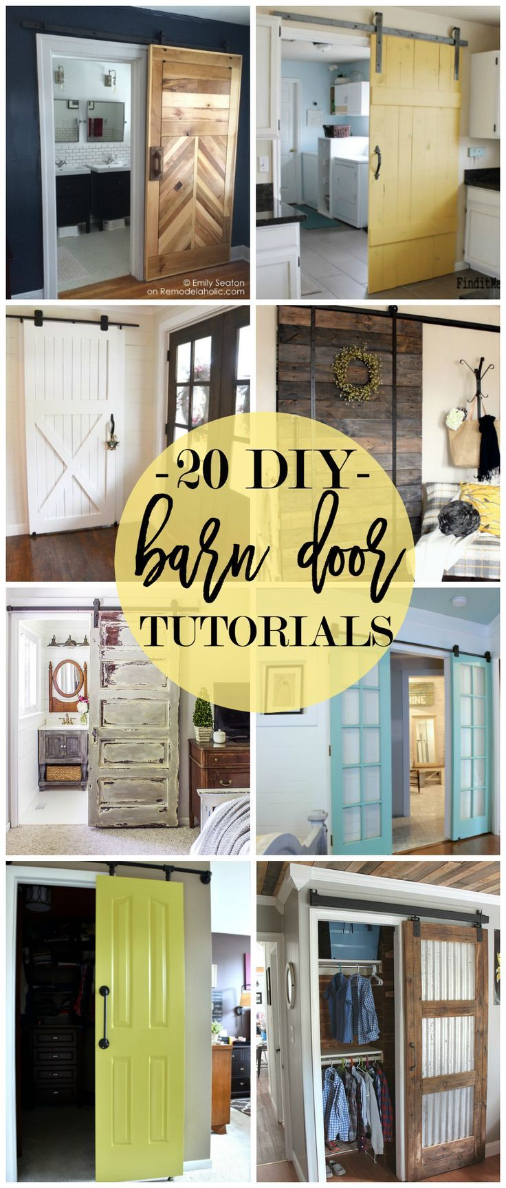 6311015b58b9 20 DIY Barn Door Tutorials   Bloggers  Best DIY Ideas   Diy barn ...