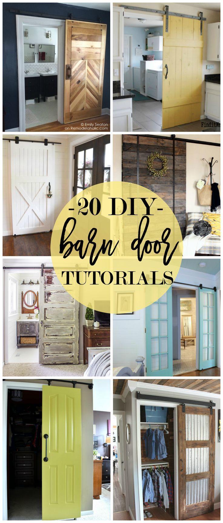 9 things to consider when installing a barn door - 20 Diy Barn Door Tutorials
