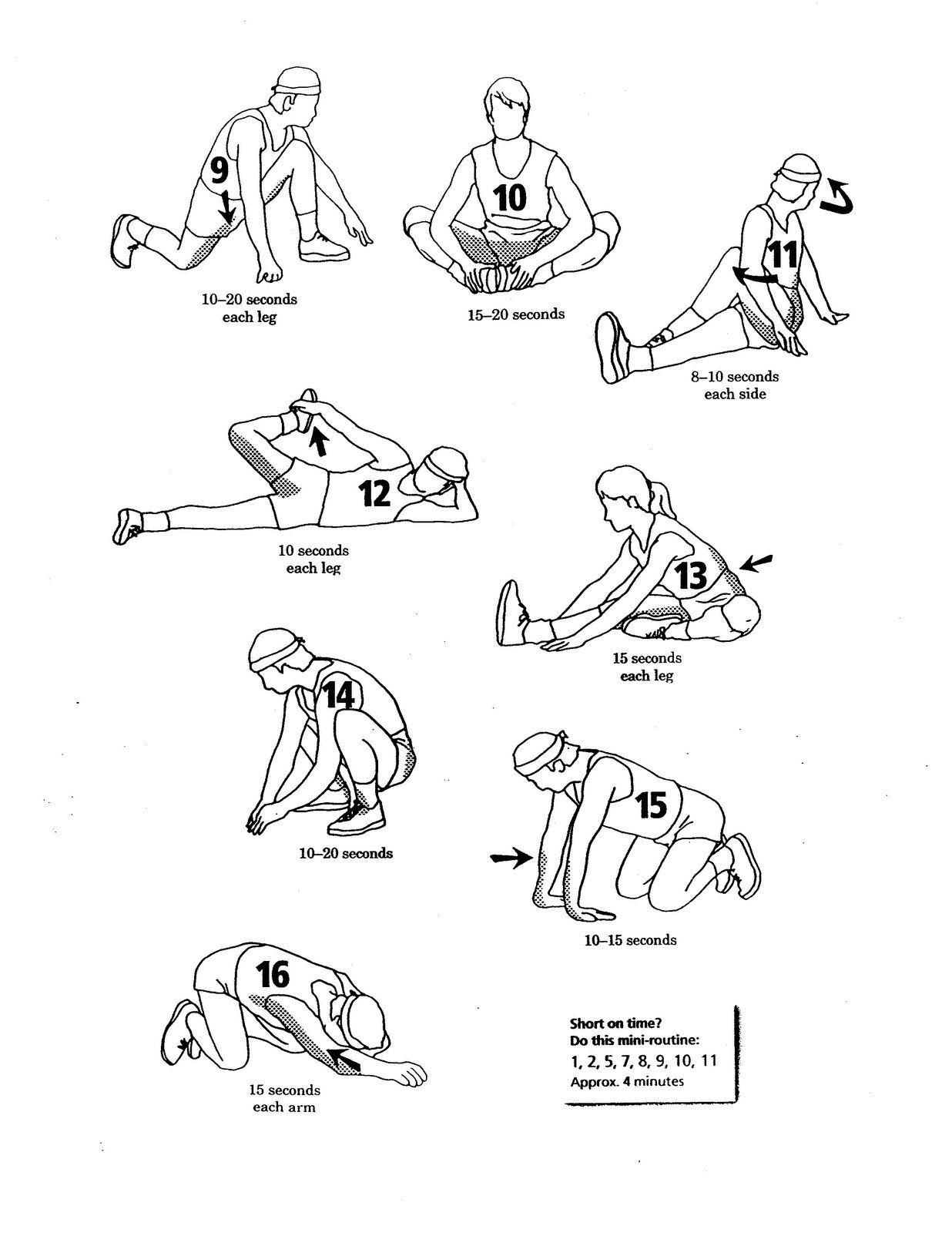 Racquetball Stretches To Do Before And After