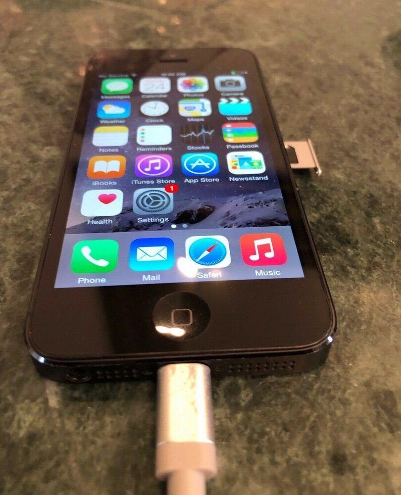 Apple iPhone 5 - 32GB - Black -Blue tooth-Wifi- #Apple #Bar