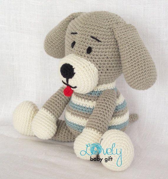 CROCHET PATTERN - Amigurumi Pattern, Amigurumi Toy, Dog, Animal ...