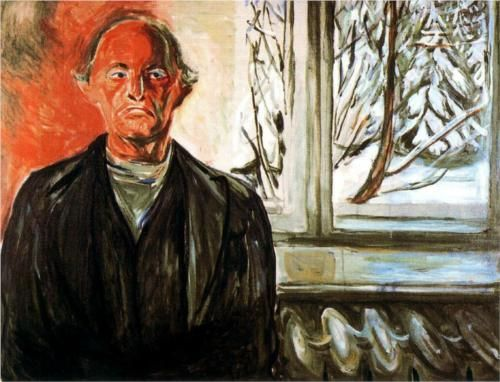 By the Window - Edvard Munch, oil on canvas, 84 x 107.5cm, The Munch Museum, 1940