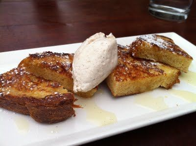Pan dulce ~ mexican sweet bread / cinnamon whipped cream /licor 43 / star anise