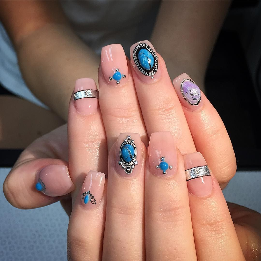 Awesome summer acrylic nail design trends art pinterest