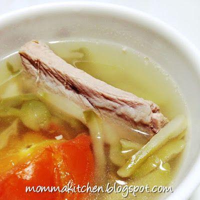 ♥ Momma Kitchen ♥: Szechuan Preserved Vegetable Pork Ribs Soup ...