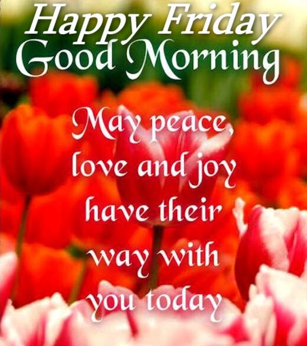 Best Good Morning Happy Friday Quotes