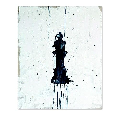 "Kent Youngstrom ""King Chess"" Stretched Canvas"