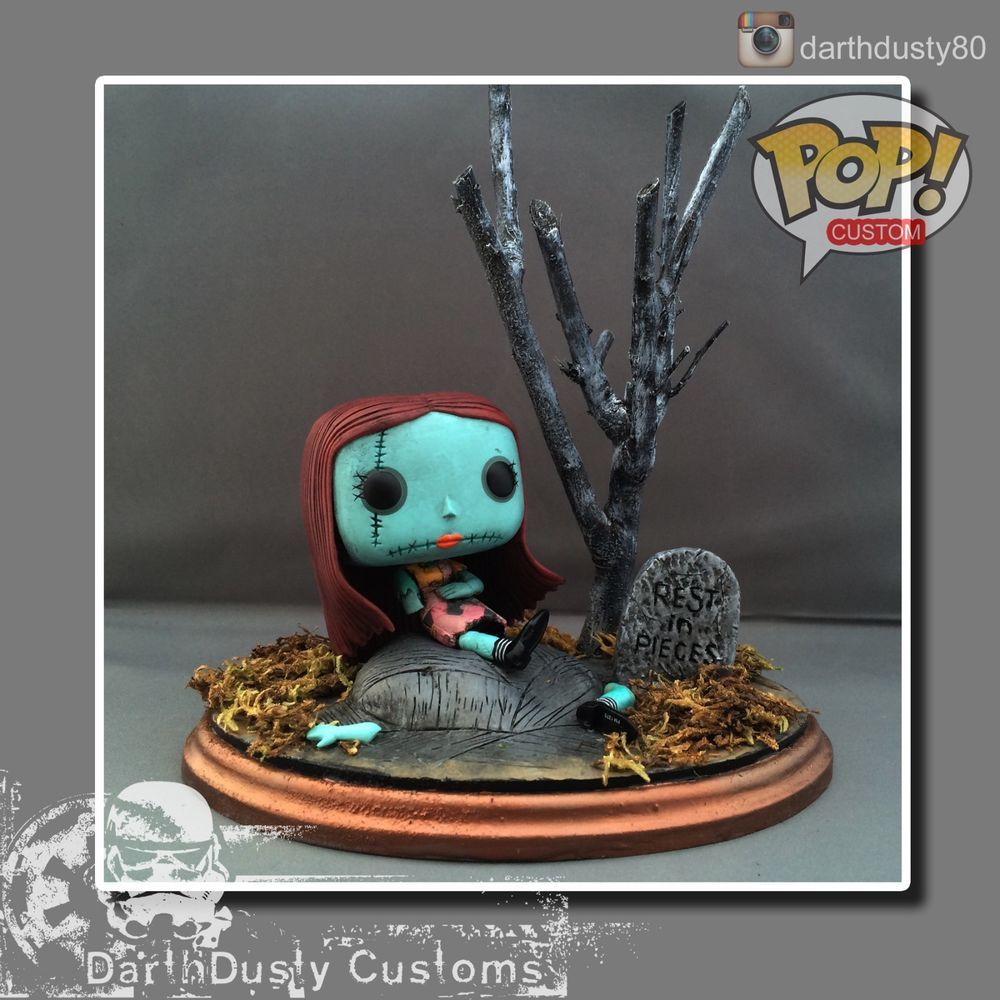 The Nightmare Before Christmas Custom Funko POP Sally TNBC Tim ...