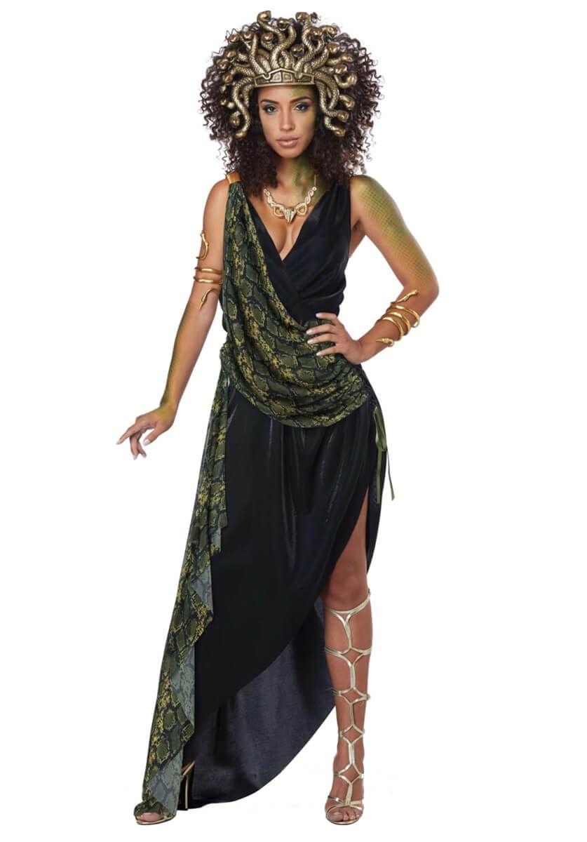 Brand New Sedusa Ancient Greek Mythology Medusa Adult Costume