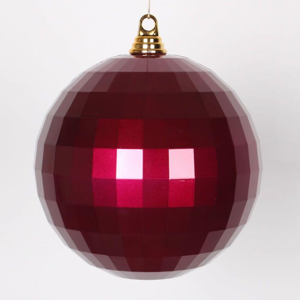 Candy Mirror Ball Ornament