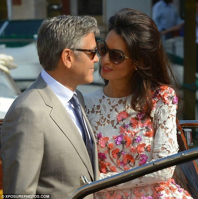 UNLOCK YOUR LOVE & George Clooney Wedding In Venice