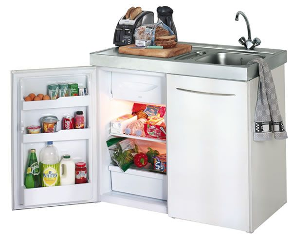 All In One Kitchen Unit With Built In Refrigerator Buy Full