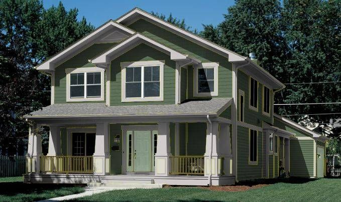 Image Detail For House Paint Ideas Exterior Forest Green Medium