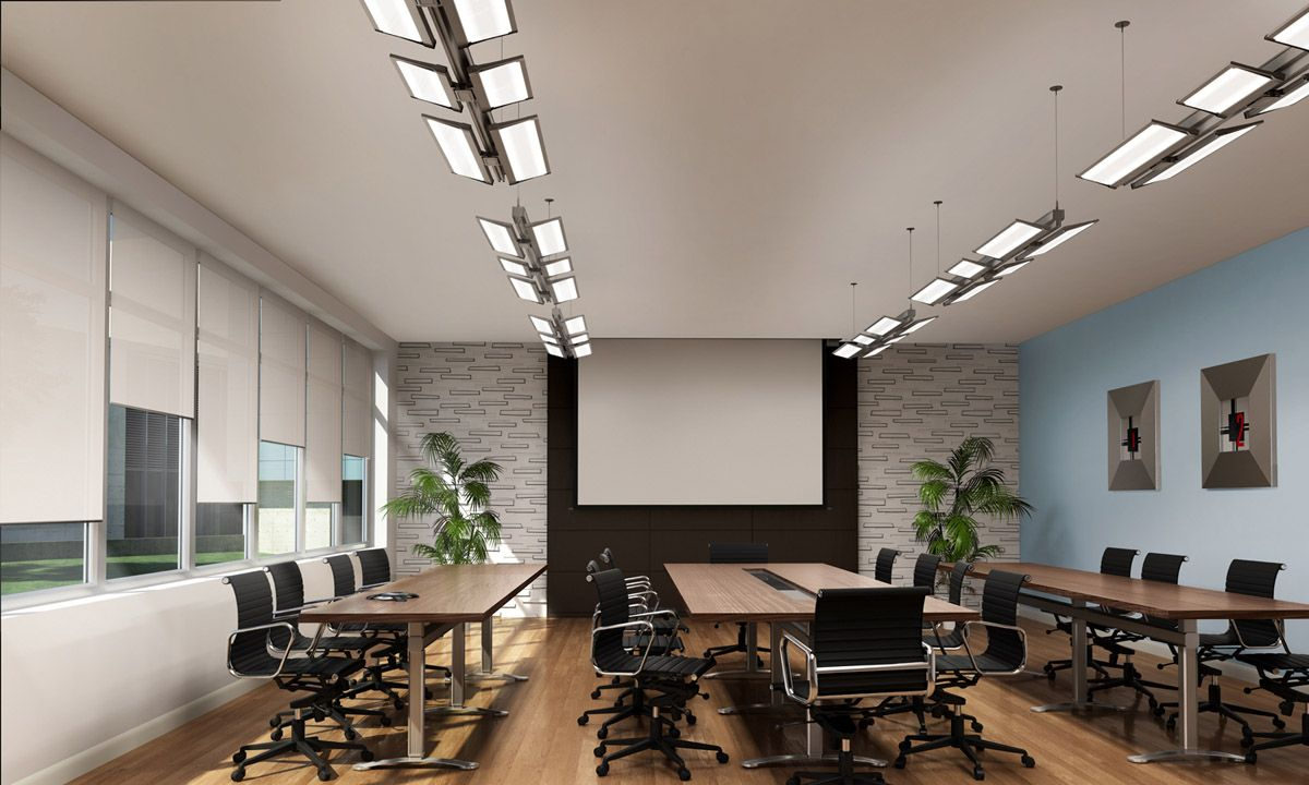 Cooper Lighting Neo Ray Index Office Interior