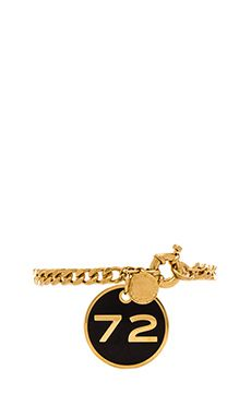 { Marc by Marc Jacobs Property of Marc Chunky Bracelet in Black & Oro | REVOLVE }
