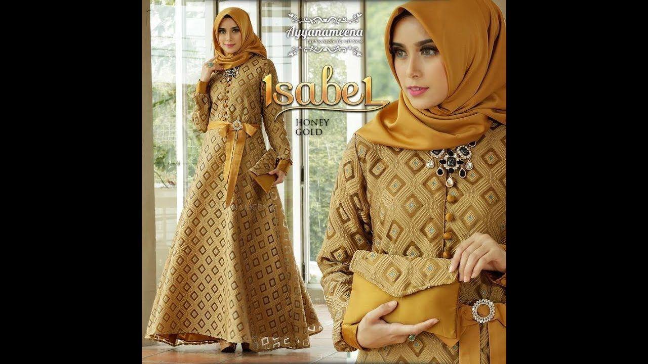 Trend gamis 12 simple mewah dan elegan untuk gaya busana