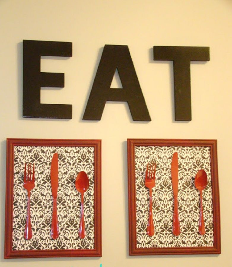 diy wall art without frames - Google Search | Kitchen | Pinterest ...