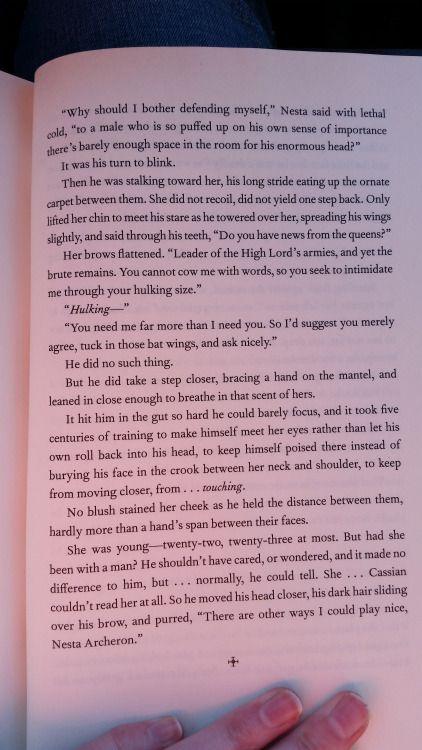 Part 5 Of The Bonus Scene With Nesta And Cassian Bookofademigod